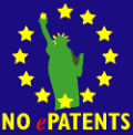 No e-patents!